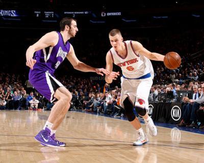 Sacramento Kings v New York Knicks by Nathaniel S Butler
