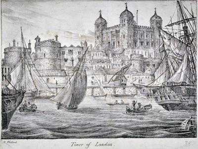 Tower of London, 1829 by Nathaniel Whittock