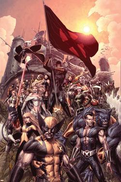 Nation X No. 1: Wolverine, Namor, Beast, Magik, Nightcrawler, Cyclops