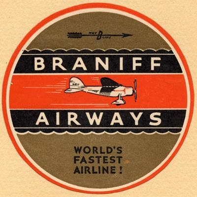 National Air and Space Museum: Braniff Airways