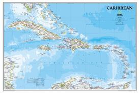 Affordable Maps of The Caribbean Posters for sale at AllPosters.com