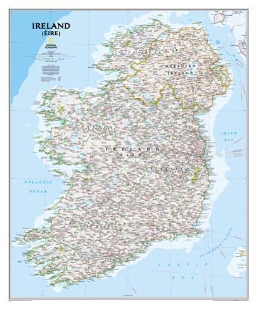 National Geographic Ireland Classic Style