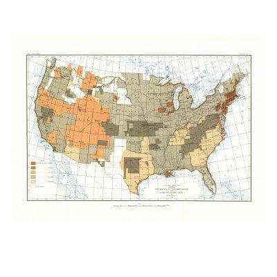 Maps Of North America Posters At AllPosterscom - Maps america