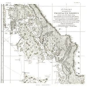 1899 A Chart showing part of the Coast of NW America Side 2 by National Geographic Maps
