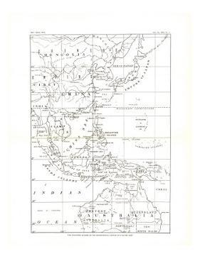 1900 Philippines Map by National Geographic Maps