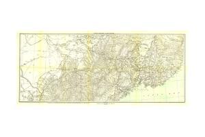 1905 Kirin Harbin Vladivostok Map by National Geographic Maps