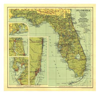 Singer Island Florida Map.Affordable Florida Posters For Sale At Allposters Com