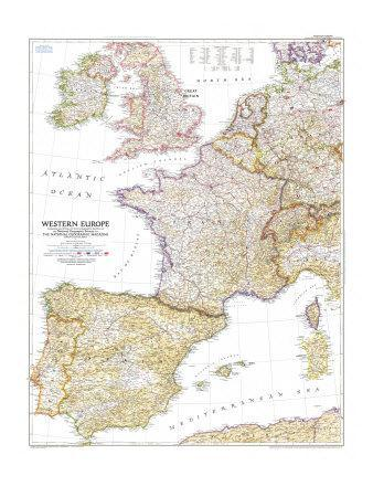 Maps of Europe Posters for sale at AllPosterscom