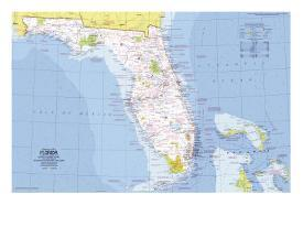Affordable Maps of Florida Posters for sale at AllPosters.com