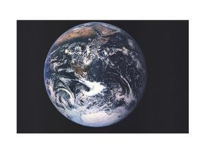 1973 Earth From Space by National Geographic Maps