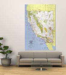 Affordable Maps of California Posters for sale at AllPosters.com on