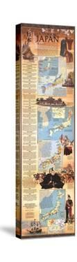 1984 Historical Japan Map by National Geographic Maps