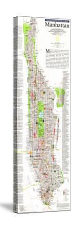 1990 Manhattan Map