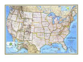 United States Map Detailed.Affordable Maps Of The United States Posters For Sale At Allposters Com