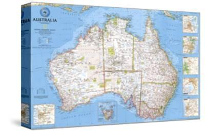 2000 Australia Map by National Geographic Maps