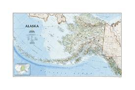 Affordable Maps of Alaska Posters for sale at AllPosters.com
