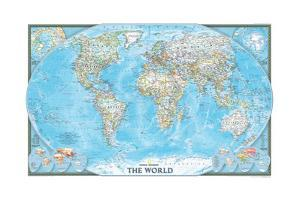 2004 World by National Geographic Maps