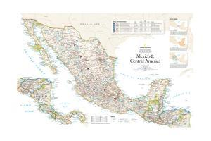 2007 Mexico and Central America by National Geographic Maps