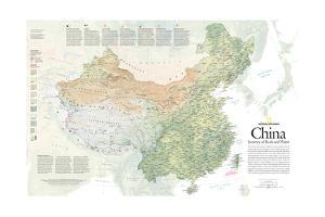 2008 China, Journey of Rock and Water by National Geographic Maps
