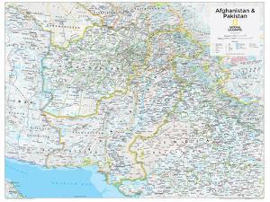 2014 Afghanistan Pakistan - National Geographic Atlas of the World, 10th Edition by National Geographic Maps