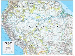 Maps of south america natl geo posters for sale at allposters 2014 amazon region national geographic atlas of the world 10th edition by national geographic gumiabroncs Image collections