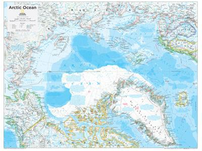 2014 Arctic Political - National Geographic Atlas of the World, 10th Edition by National Geographic Maps