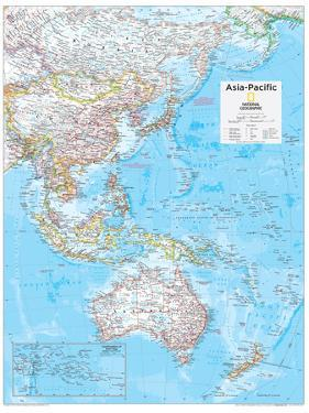 2014 Asia Pacific - National Geographic Atlas of the World, 10th Edition by National Geographic Maps