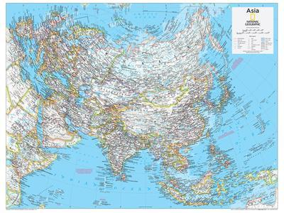 Maps Of Asia Posters At AllPosterscom - World political map 2014