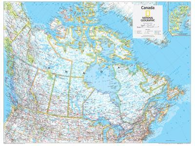 2014 Canada Political - National Geographic Atlas of the World, 10th Edition by National Geographic Maps