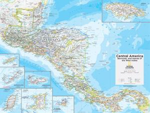 2014 central america national geographic atlas of the world 10th edition by national geographic