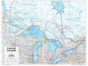 2014 Central Canada - National Geographic Atlas of the World, 10th Edition by National Geographic Maps