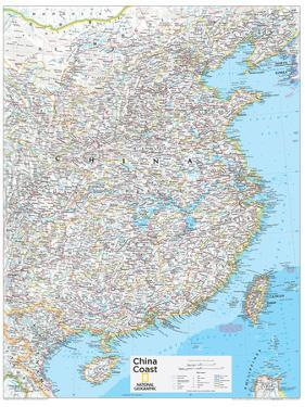 2014 China Coast - National Geographic Atlas of the World, 10th Edition by National Geographic Maps