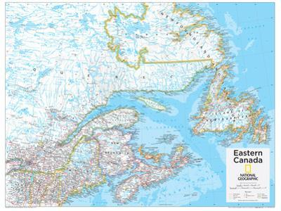 2014 Eastern Canada - National Geographic Atlas of the World, 10th Edition