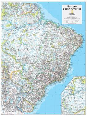 2014 Eastern South America - National Geographic Atlas of the World, 10th Edition by National Geographic Maps