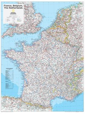 2014 France Belgium Netherlands - National Geographic Atlas of the World, 10th Edition by National Geographic Maps