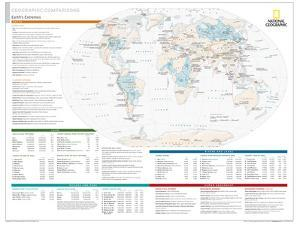 2014 Geographic Comparisons - National Geographic Atlas of the World, 10th Edition by National Geographic Maps