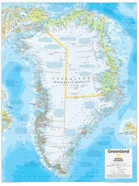 2014 Greenland - National Geographic Atlas of the World, 10th Edition by National Geographic Maps