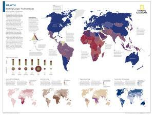 2014 Health - National Geographic Atlas of the World, 10th Edition by National Geographic Maps