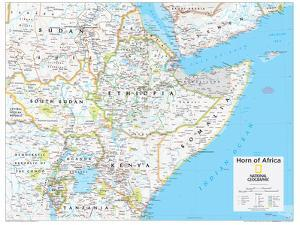 2014 Horn of Africa - National Geographic Atlas of the World, 10th Edition by National Geographic Maps