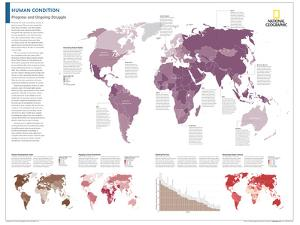 2014 Human Condition - National Geographic Atlas of the World, 10th Edition by National Geographic Maps