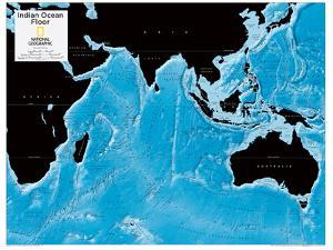 2014 Indian Ocean Floor - National Geographic Atlas of the World, 10th Edition by National Geographic Maps