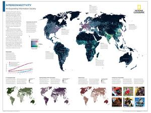 2014 Interconnectivity - National Geographic Atlas of the World, 10th Edition by National Geographic Maps