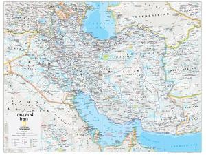 2014 Iraq and Iran - National Geographic Atlas of the World, 10th Edition by National Geographic Maps