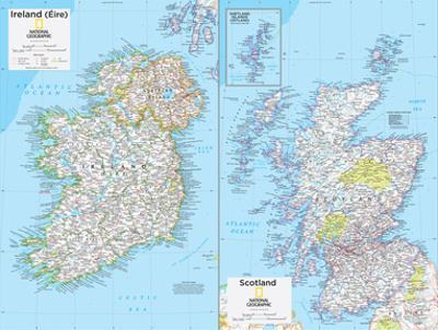 2014 Ireland and Scotland - National Geographic Atlas of the World, 10th Edition by National Geographic Maps