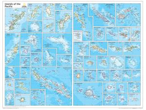2014 Islands of the Pacific - National Geographic Atlas of the World, 10th Edition by National Geographic Maps