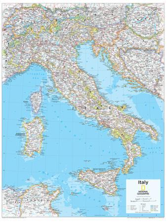 2014 Italy - National Geographic Atlas of the World, 10th Edition by National Geographic Maps