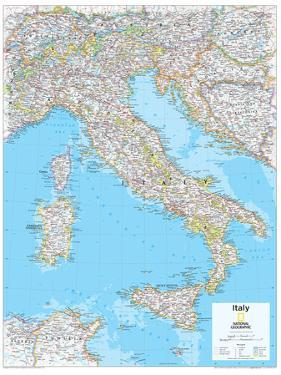 Affordable maps of italy posters for sale at allposters 2014 italy national geographic atlas of the world 10th edition by national geographic maps gumiabroncs Choice Image