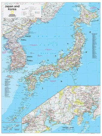 Maps of Japan Posters for sale at AllPosterscom