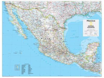 Maps of Mexico Posters for sale at AllPosterscom