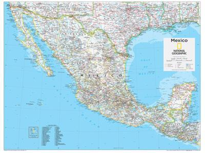 2014 Mexico - National Geographic Atlas of the World, 10th Edition by National Geographic Maps
